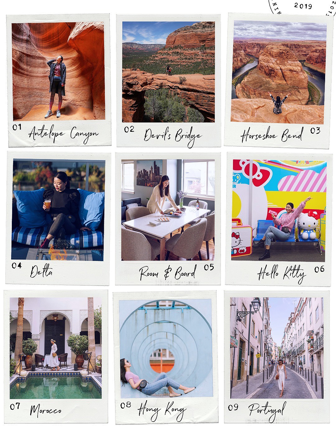 2019 best nine Instagram