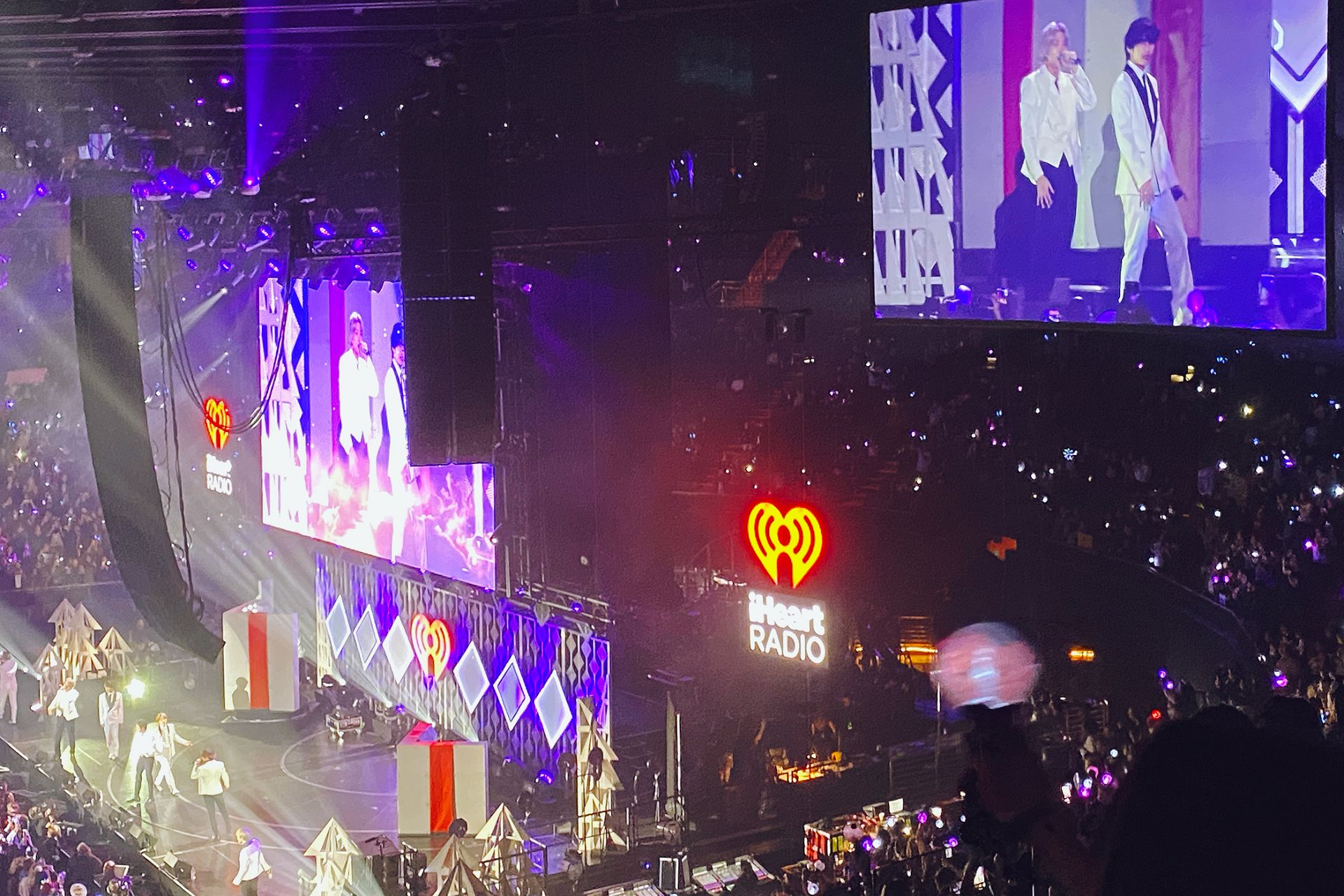 BTS Jingle Ball concert LA RM V