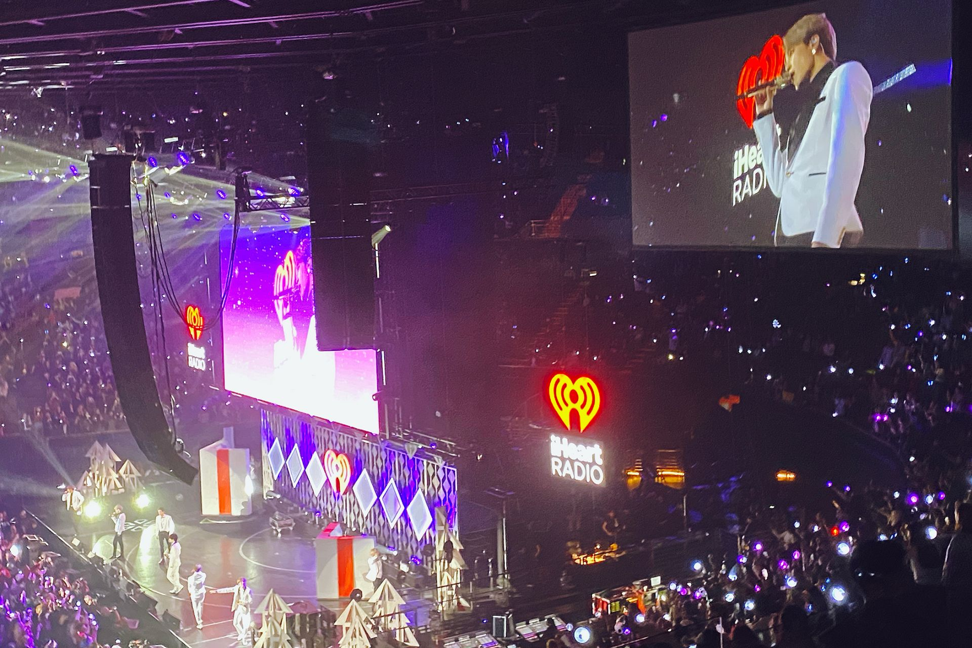 BTS Jingle Ball concert LA Jimin