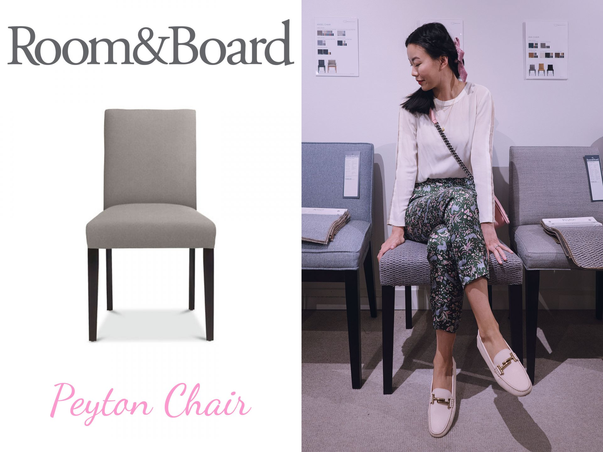 Room and Board Peyton dining chair