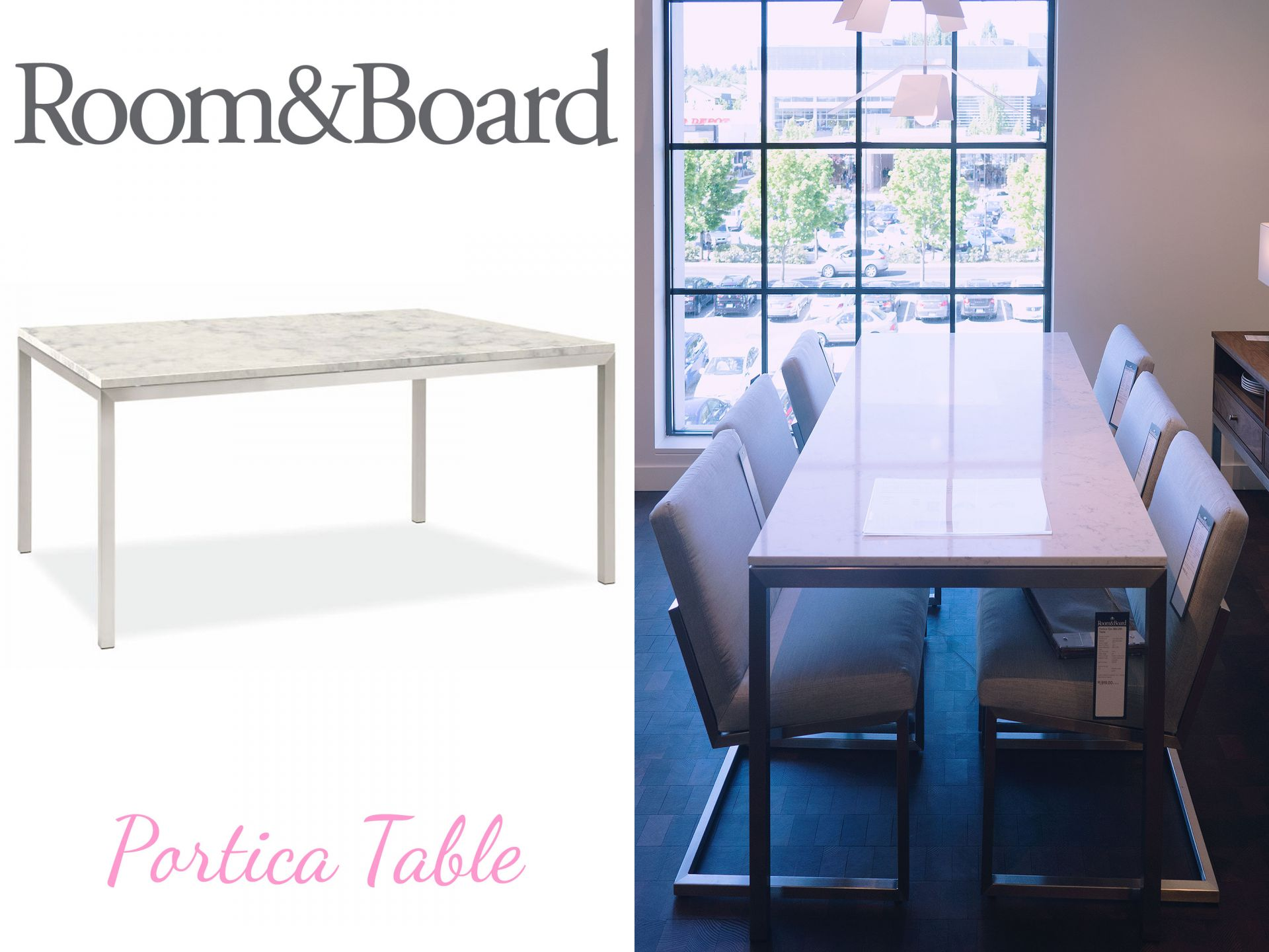 Room and Board Portica Dining Table