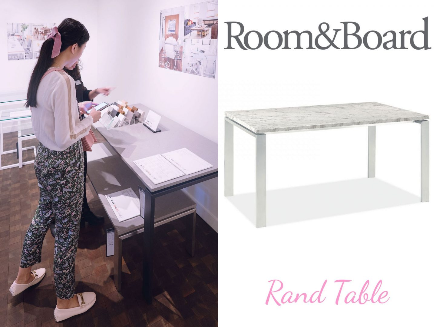 Room and Board Rand Table