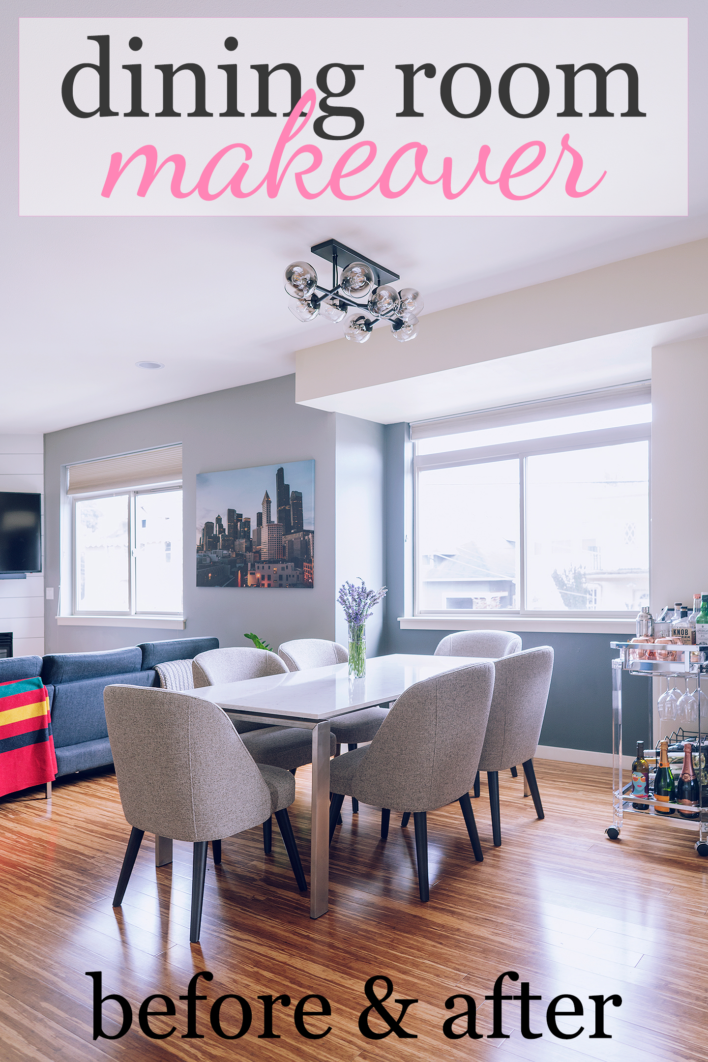 Revealing My Dining Room Makeover with Room & Board! [Part 2/2]