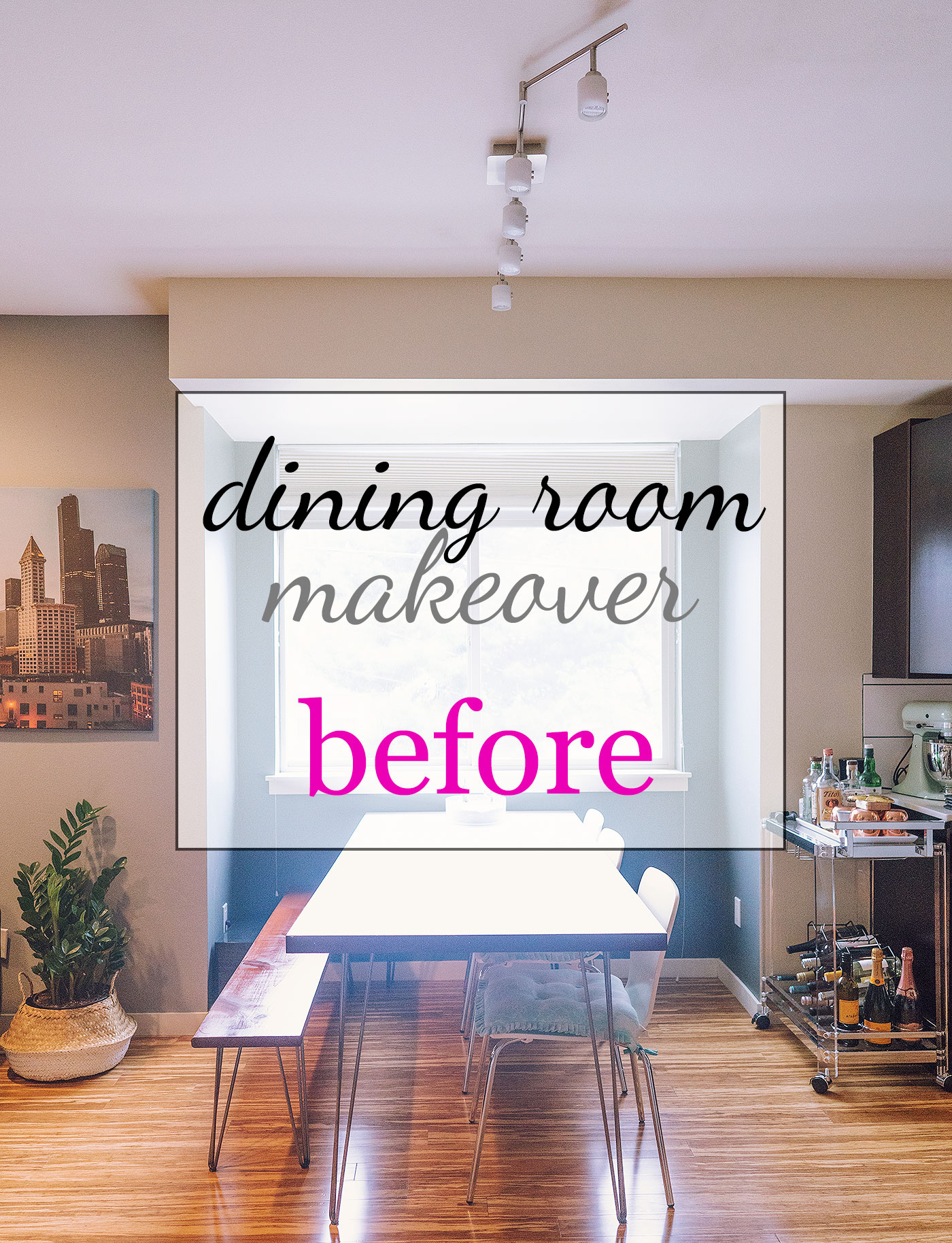 townhouse dining room makeover home decor remodel