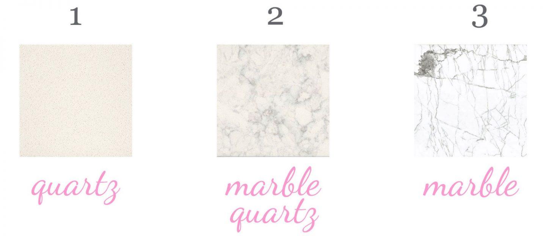 quartz marble countertop tabletop
