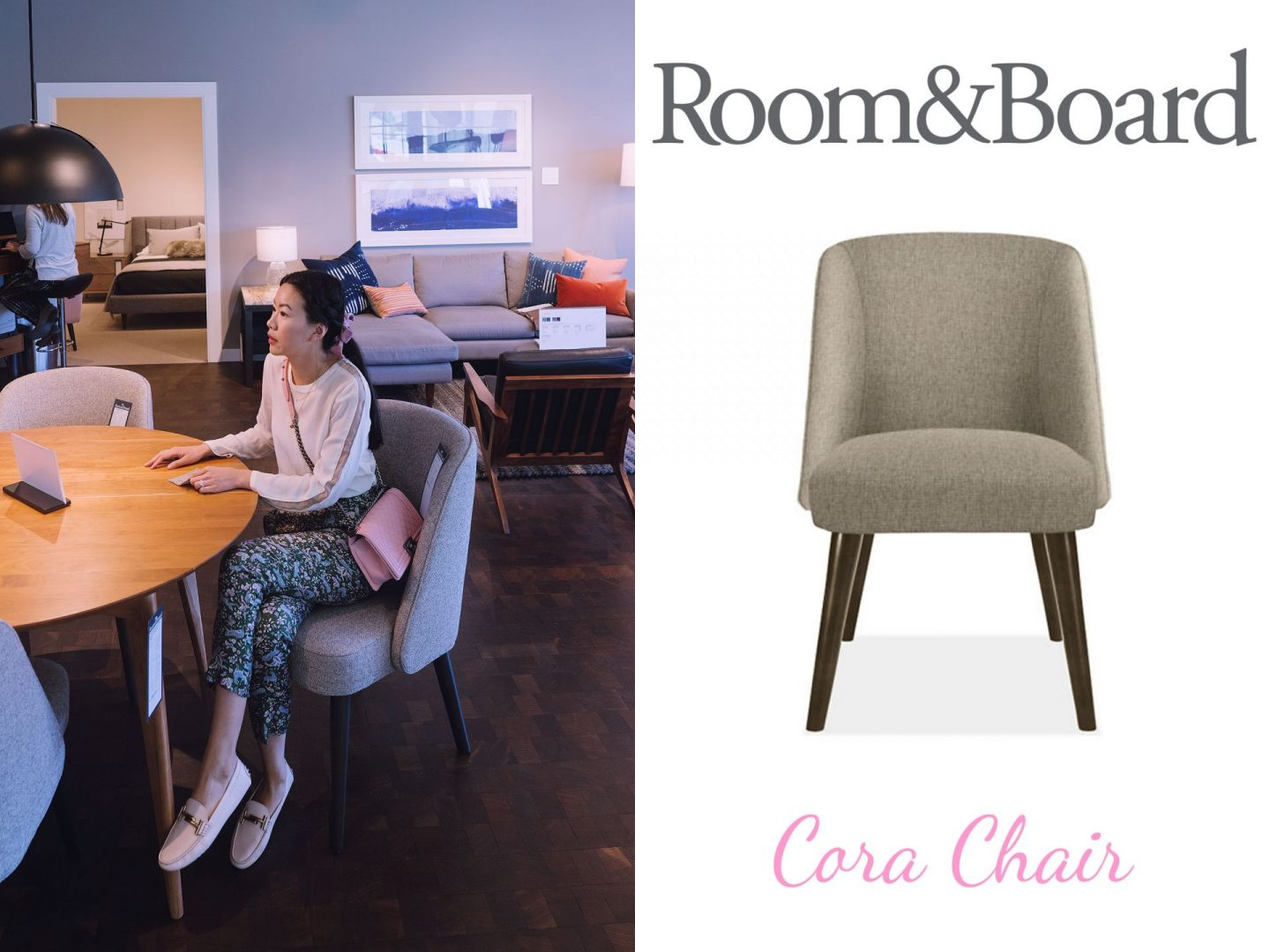 Room and Board Cora dining chair