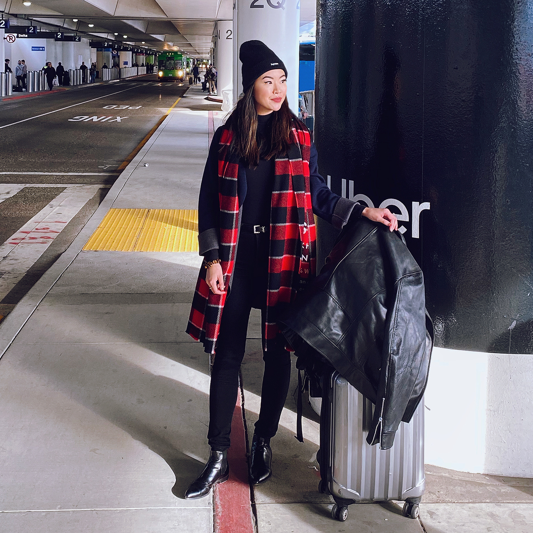 airport outfit look style