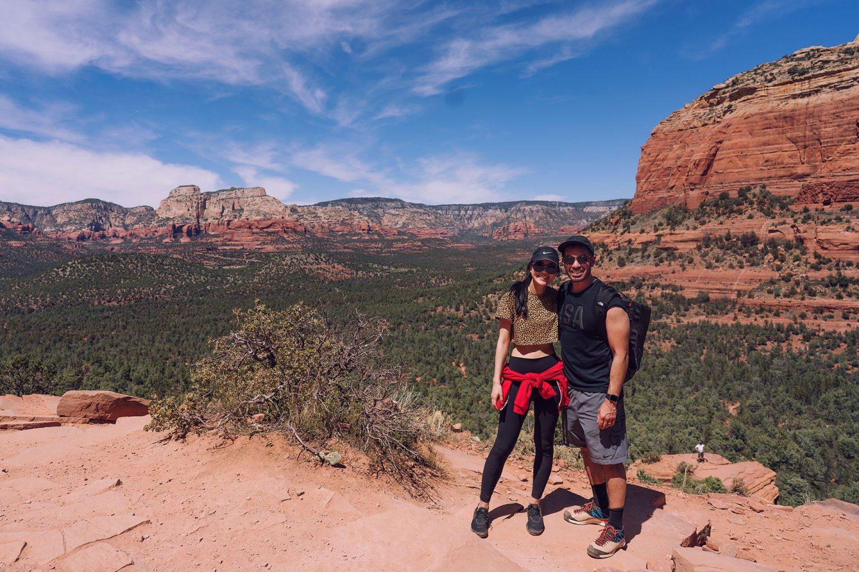Devils Bridge Sedona Arizona hike