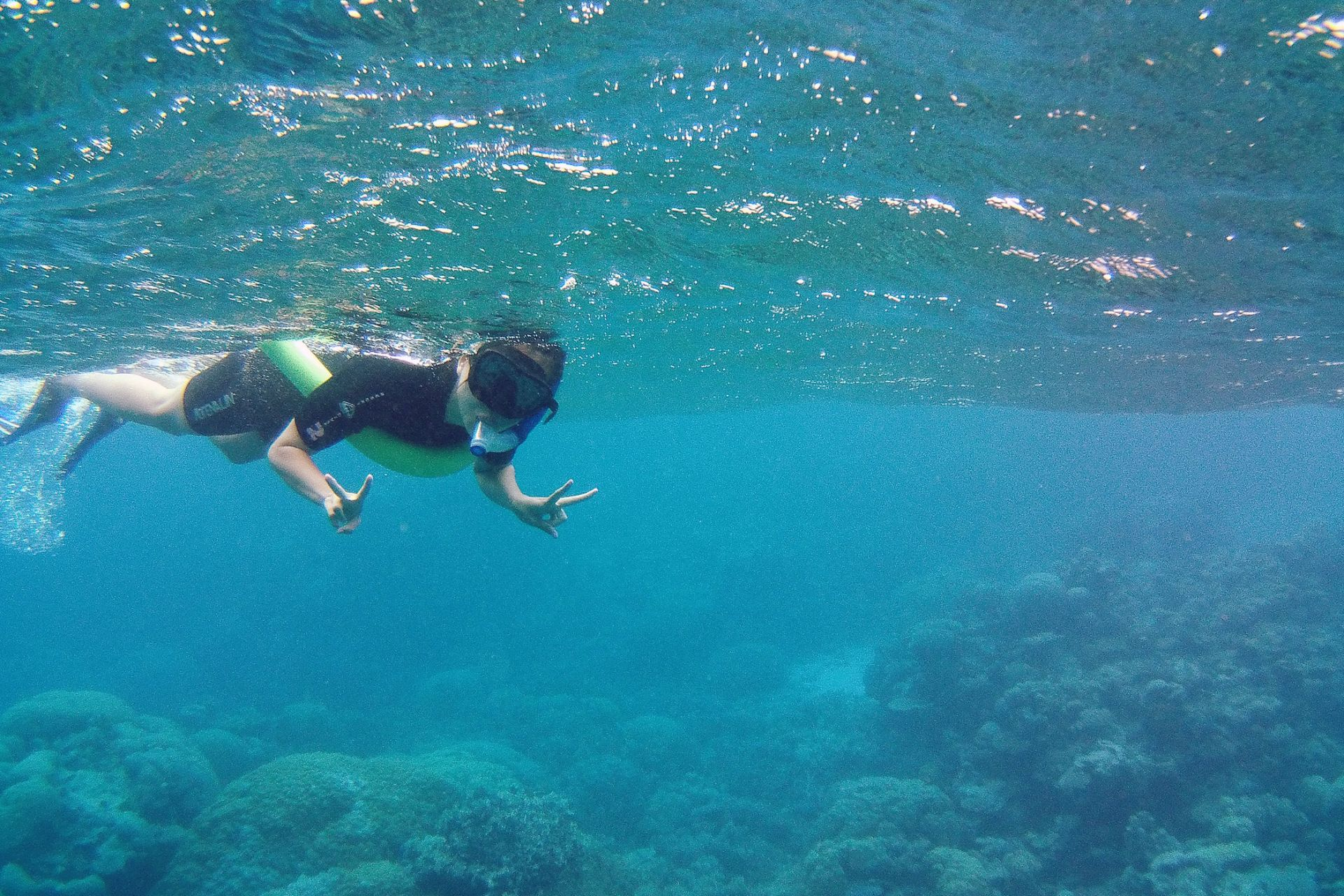 Great Barrier Reef Australia snorkeling tour
