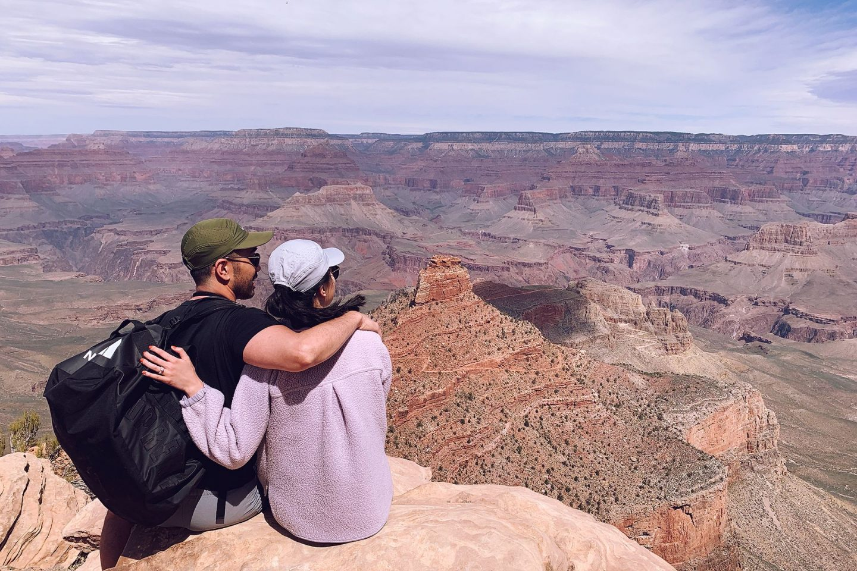 Grand Canyon Arizona couple hike