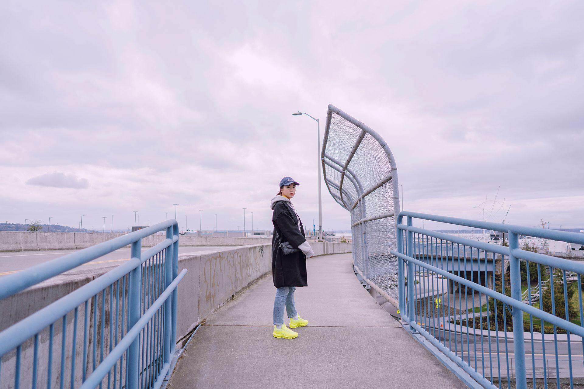 Neon Nike Air Max 97 sneakers