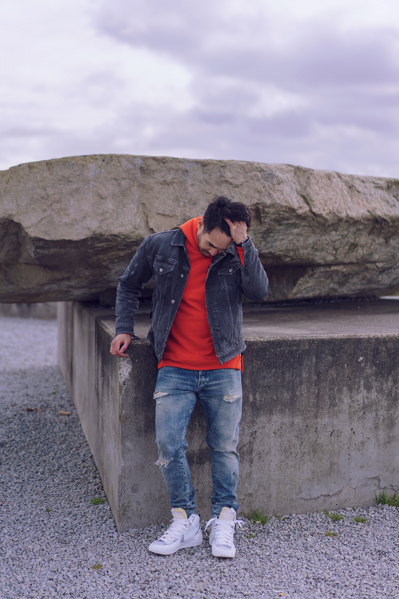 John Elliott Villain hoodie sweatshirt