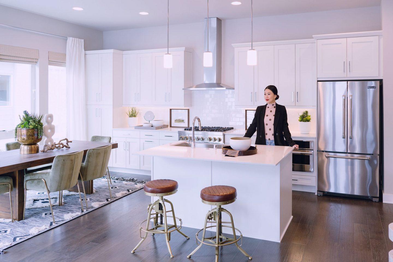 Lario Quadrant Homes Bellevue Washington