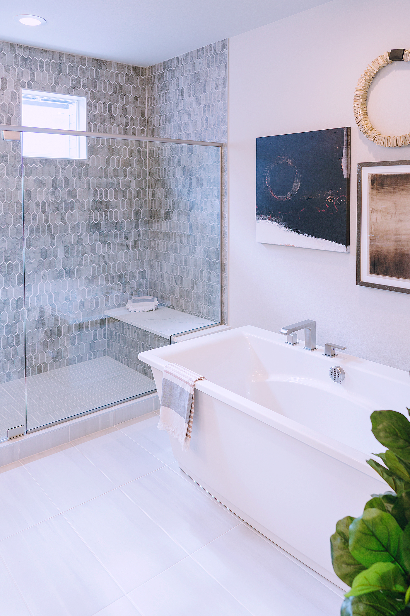 master bathtub bathroom decor