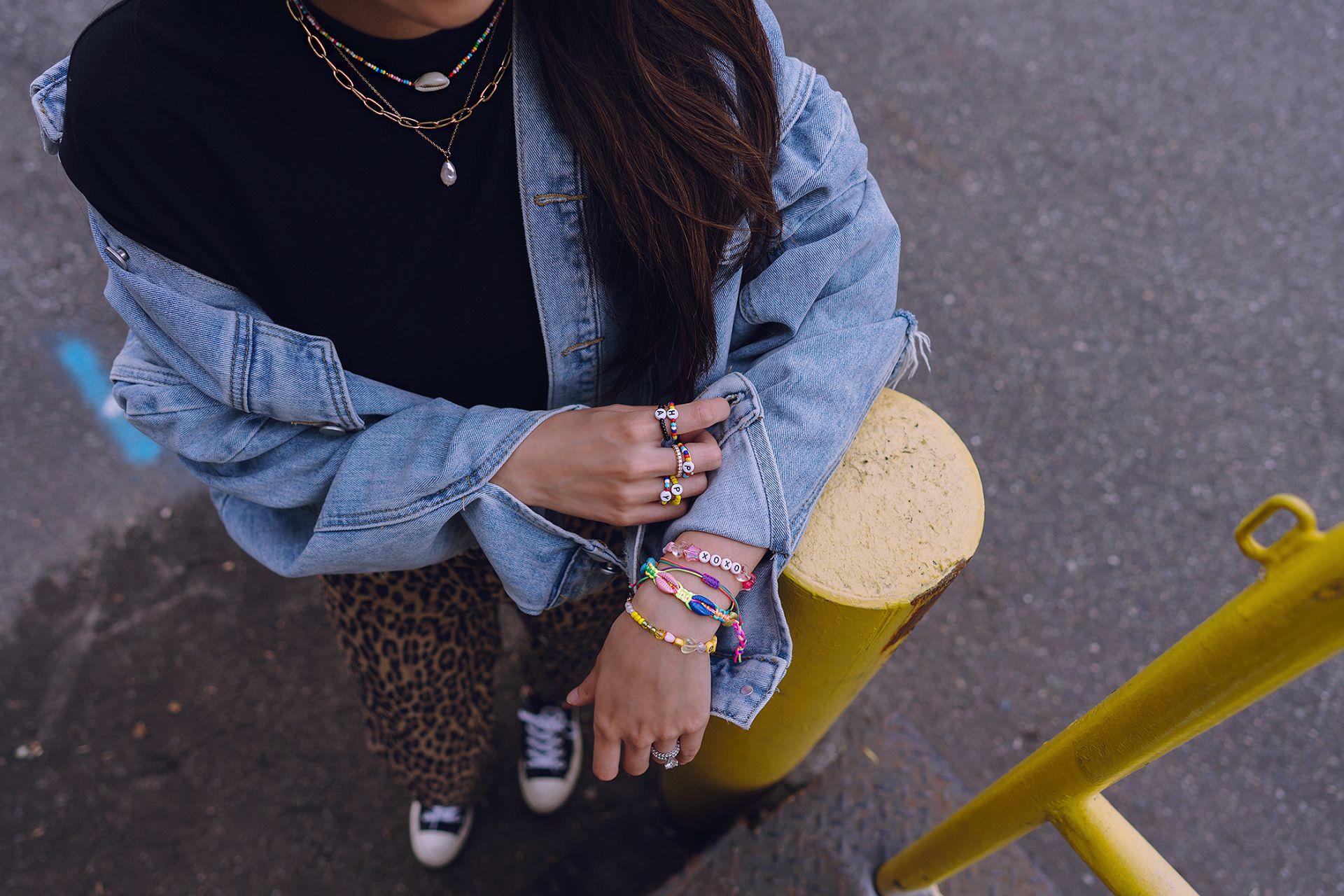 colorful beaded jewelry friendship bracelet