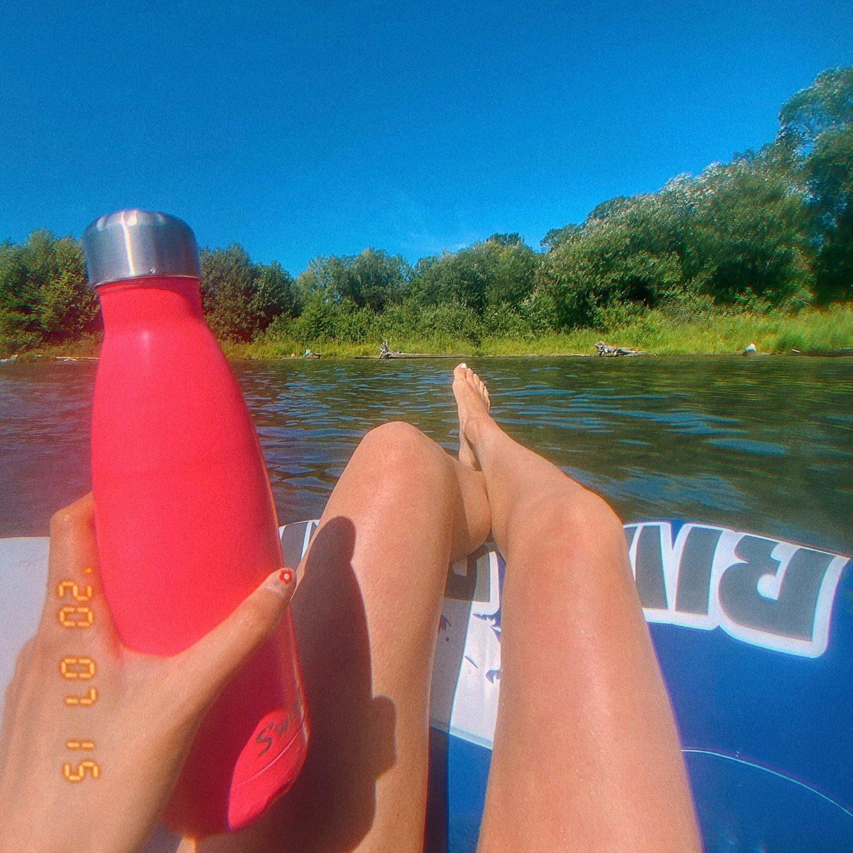 intertube float Lake Sammamish State Park