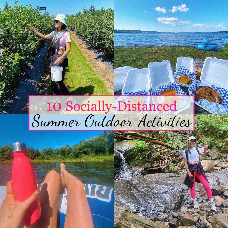 10 socially distanced summer outdoor activities