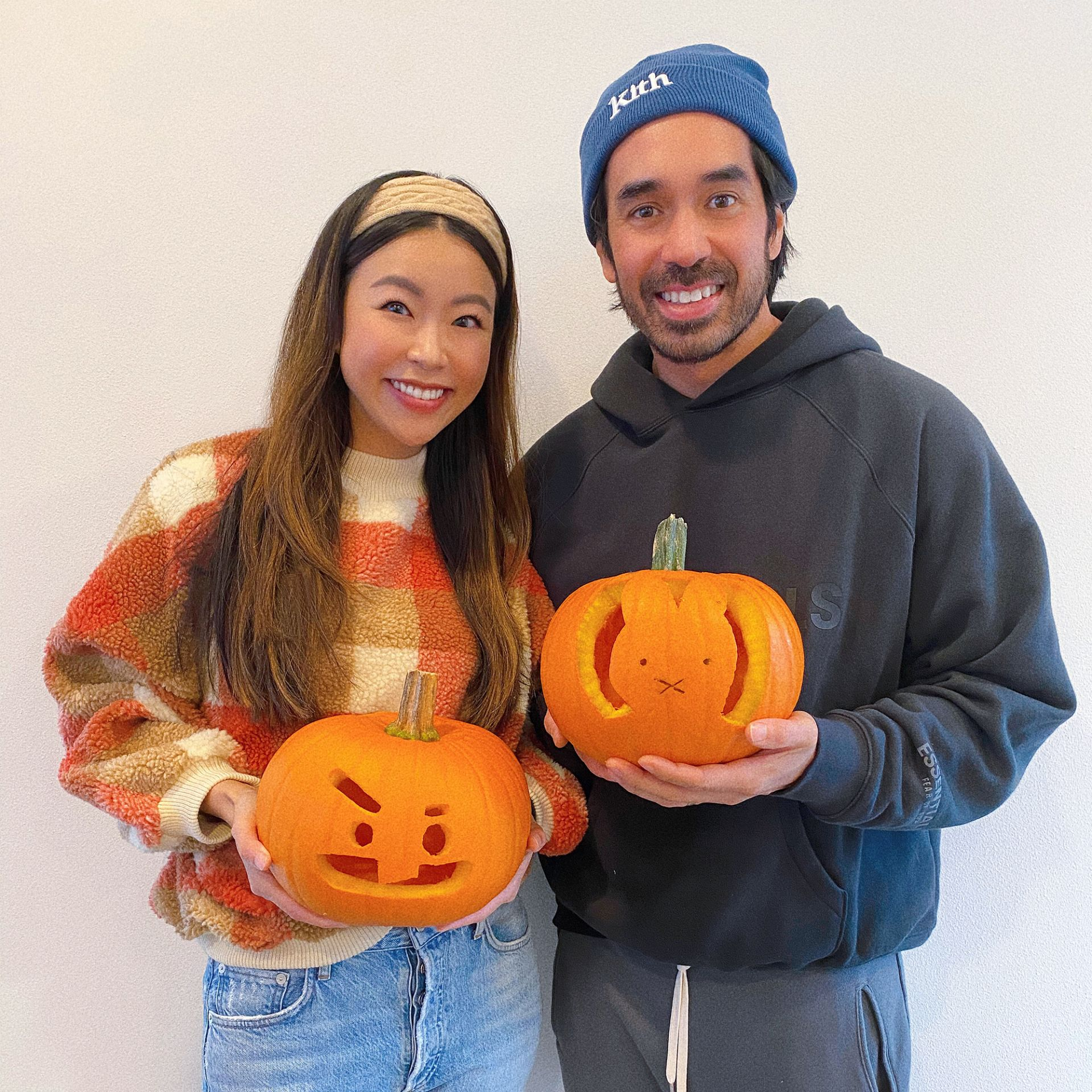 BT21 BTS Shooky Miffy pumpkin carving