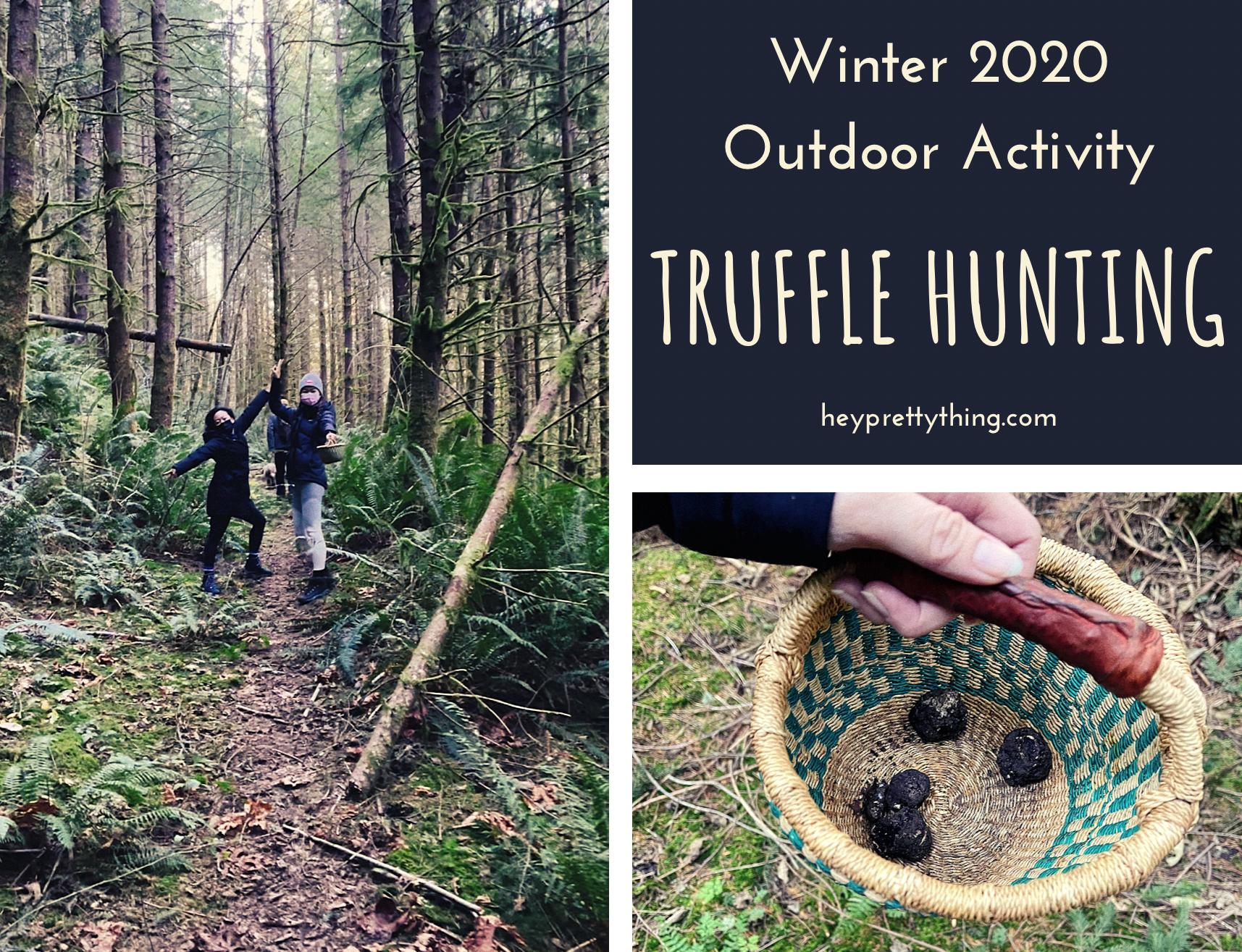 truffle hunting foraging PNW Seattle Washington
