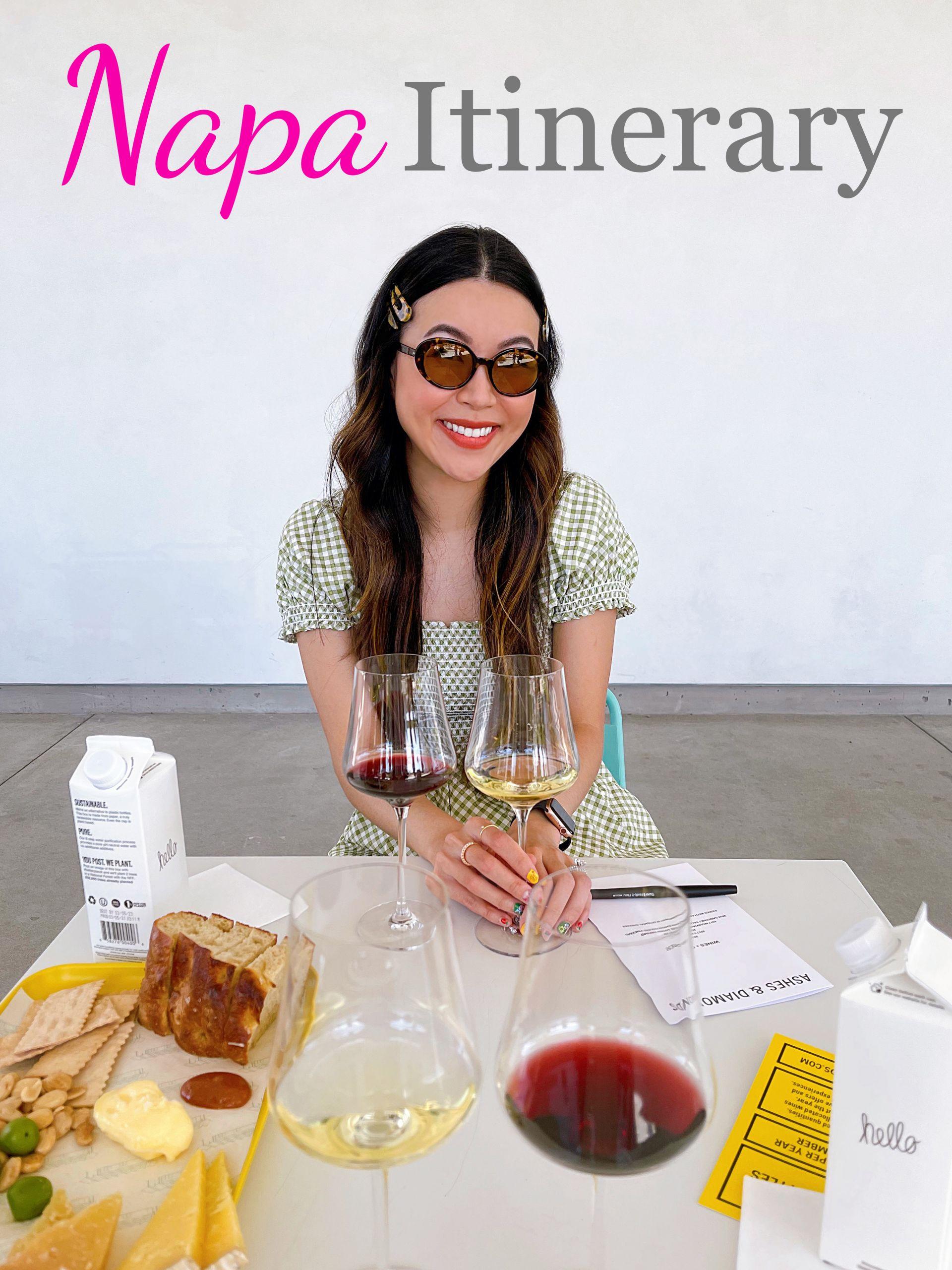 Napa weekend winery itinerary