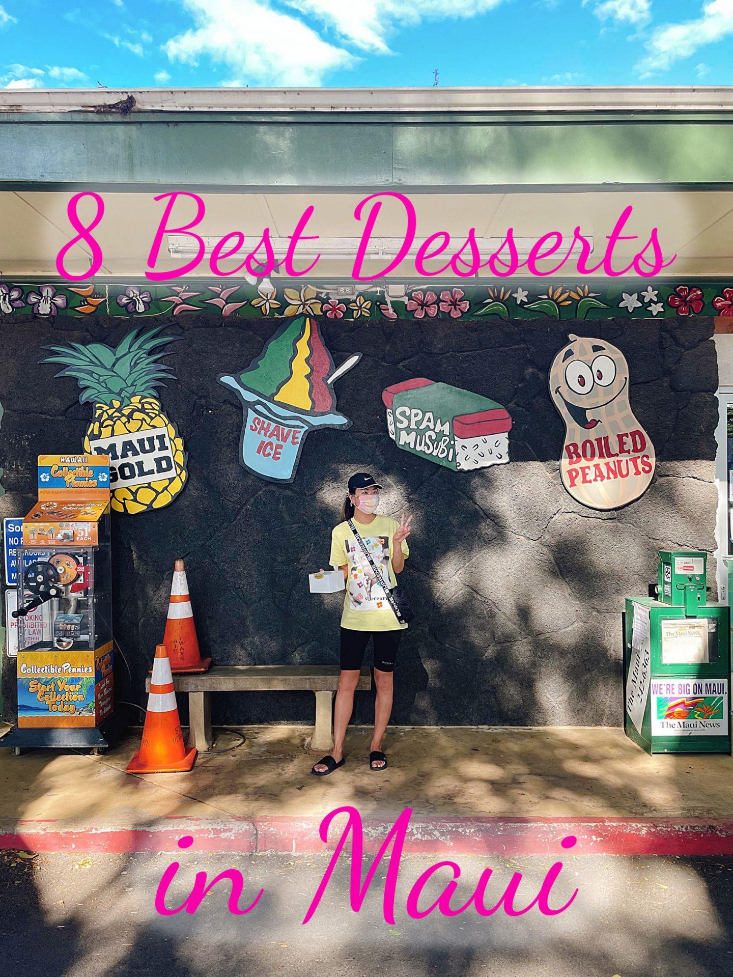 Best Desserts in Maui Hawaii